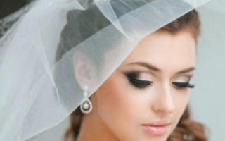Красивый свадебный макияж — идеи и примеры и мастер-класс