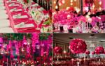 Свадьба в цвете фуксия — идеи оформление для молодожен
