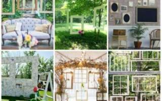 Свадебные рамки для фото своими руками — мастер-класс