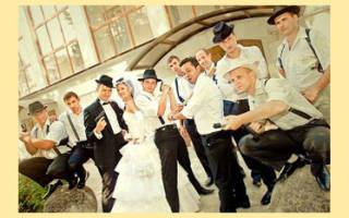 Как организовать свадьбу на 20 человек — 4 идеи