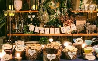 Сладкий стол на свадьбу: десерты и сладости для кэнди-бара