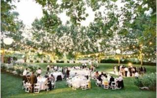 Идеи для свадьбы летом своими руками — оформление