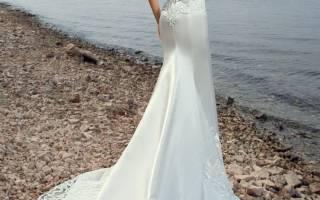 Атласное свадебное платье — фасоны с кружевом, шлейфом, поясом