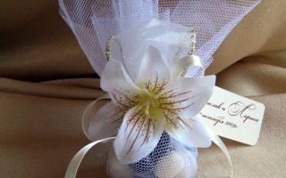 Бонбоньерки на свадьбу: для чего нужны и что положить внутрь?