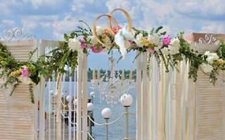 Свадьба в стиле шебби шик — оформление, платье, декор