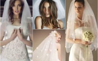 Свадебная прическа с фатой — мастер-класс по укладке и креплению