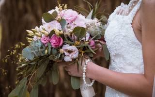 Букет невесты: как засушить и сохранить после свадьбы