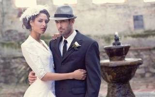 Оформление свадьбы в винтажном стиле — декор зала