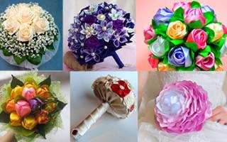 Зимний свадебный букет невесты — идеи и мастер-класс