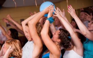 Веселые конкурсы на свадьбу с воздушными шариками