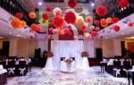Оформления свадебного зала своими руками — идеи, мастер-класс