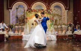 Свадебный вальс — красивый танец для молодоженов