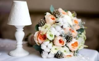 Букет невесты из искусственных цветов своими руками