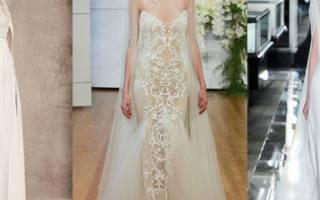 Белое свадебное платье — обзор модных тенденций 2018