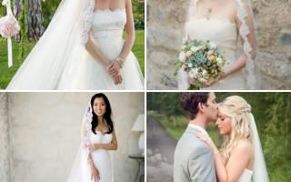 Свадебные прически с длинной фатой — фото и мастер-класс