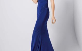 Синее свадебное платье для невесты — фото и видео обзор