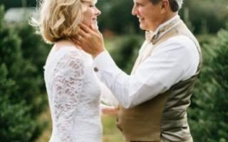 Сценарий свадьбы — для второго брака, немолодой пары