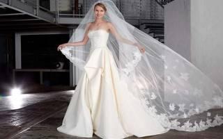 Cвадебное платье миди — лучшие модели 2018 года