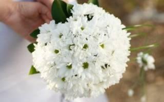 Свадебный букет из хризантем своими руками — мастер-класс