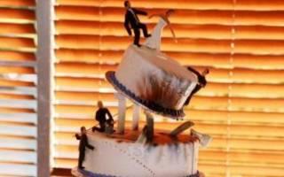 Самые необычные, креативные и оригинальные свадебные торты