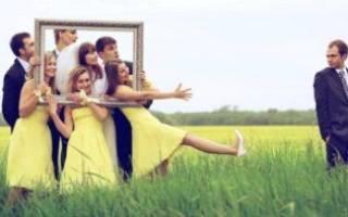 Аксессуары для свадебной фотосессии — реквизит, атрибутика