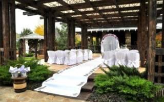 Как организовать свадьбу в коттедже, дома, в загородном доме