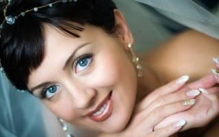 Свадебный макияж для брюнеток со смуглой кожей