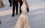 Платье свадебное цвета пудры — фото и видео обзор