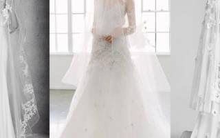 Шелковое свадебное платье — модные тренды 2018 года