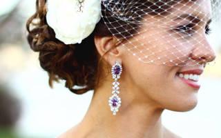 Свадебные вуалетки и вуали для невест — фото и видео обзор