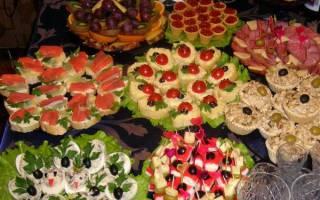 Что приготовить на свадебный стол летом: идеи для меню