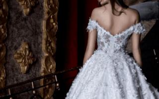 Свадебное платье с открытыми плечами, без рукавов