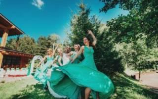 Красивый и оригинальный танец подружек невесты на свадьбе