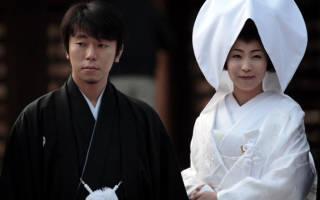 Японская свадьба — национальные традиции и обычаи