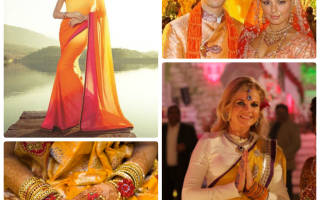 Свадьба в оранжевых цветах — идеи оформления