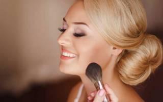Нежный свадебный макияж для невесты — мастер-класс