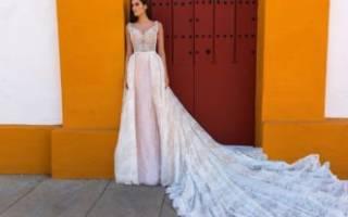 Шифоновые свадебные платья — самые модные тренды 2018 года