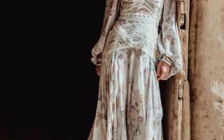 Свадебное платье в стиле бохо шик — обзор модных фасонов