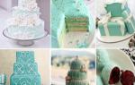 Торт бирюзовый свадебный: обзор модных тенденций
