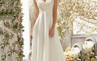 Свадебное платье в греческом стиле модные тренды