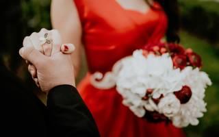 Букет невесты марсала — фото обзор и мастер-класс