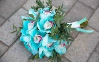 Красивые букеты невесты тиффани и цвета айвори