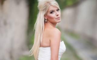 Свадебные прически: для блондинок, на рыжие, русые волосы