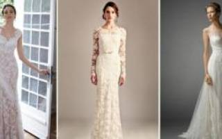 Свадебные платья в стиле шебби шик — идеи для невест