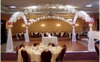 Украшение помещения на свадьбу, оформление лестницы[]